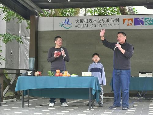 床墊秋刀魚拍三峽大板根本土劇藝人徐亨辦活動