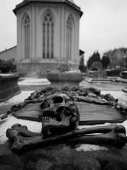 Johannisfriedhof Nürnberg 02 (Rainer.Steinke) Tags: bw friedhof cemetery grave graveyard germany blackwhite nuremberg graves panasonic sw pancake grab schwarzweiss nürnberg gräber johannisfriedhof 14mm blackwhitephotos
