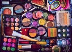 35/50 De Colores (Miss Minie  :Process Of Illumination:) Tags: newmexico colors canon 50mm makeup albuquerque cosmetics project50