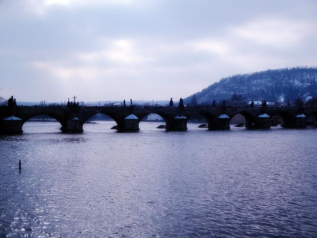 charles bridge.