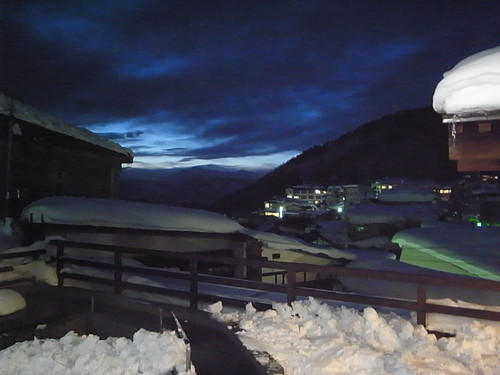 Night colors in Nozawa-onsen
