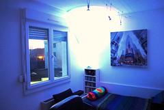 White light (Friends&Enemies) Tags: light sun moon white color ikea loft night design living nikon day sweden room style philips led wendel stiring d3000