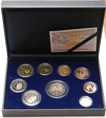 Euros del 2010. Proof