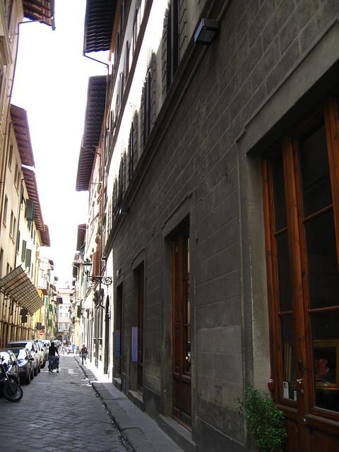 フィレンツェの街並のフリー写真素材