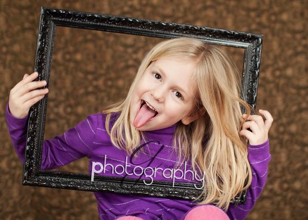Natalie framed!