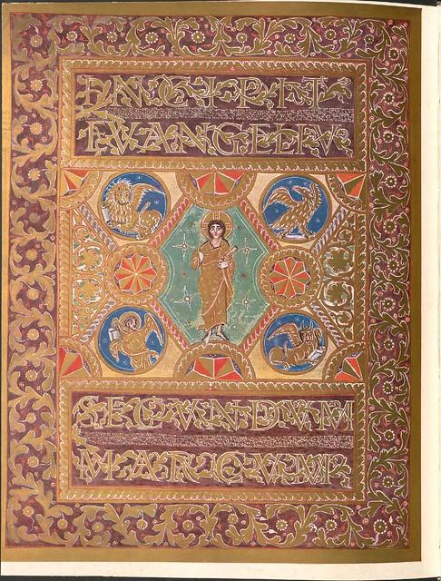 Evangeliar (Codex Aureus) - BSB Clm 14000 t