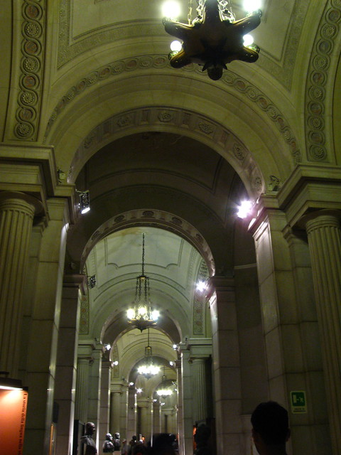 ローマの美術館内のフリー写真素材