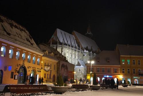 Biserica Neagra - vedere din piata Sfatului