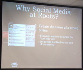 Roots presentation photo