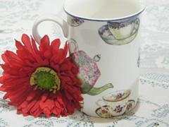 """Caneca """"Hora do chá"""" - by Euamocanecas.com"""