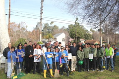 Group Shot-Councilmember Jose Huizar-CD 14-Los Angeles-Community Cleanup-San Pascual Park