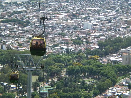 Gondola ride in Salta, Argentina
