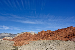 Red Rock Canyon Clouds (w4nd3rl0st (InspiredinDesMoines)) Tags: travel red wallpaper jason fall dusty tourism nature weather can