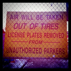 39/365 - Don't Park Here Or Else...
