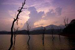 Banasura Sagar Dam Reservoir, Kerala (DP Photography) Tags: india mountains kerala wayanad westernghats reservoirs godsowncountry kalpetta lakesunsets banasurasagardam hillsofindia sunsetonlakes sunsetonadam sunsetonareservoir