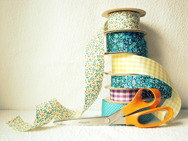 Vintage Ribbon Stack