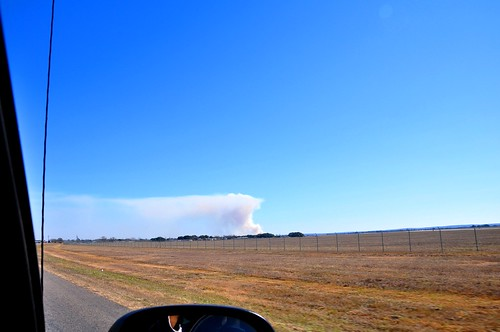 Spotted a 100 acre fire in the distance