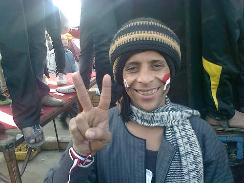 وجوة من ميدان التحرير