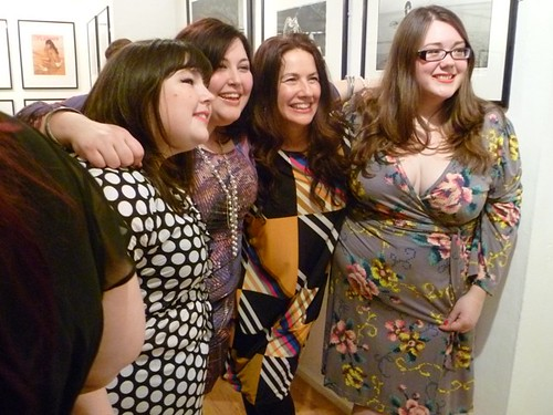 Me, Beth, Sharon & Wendy in Anna Scholz!