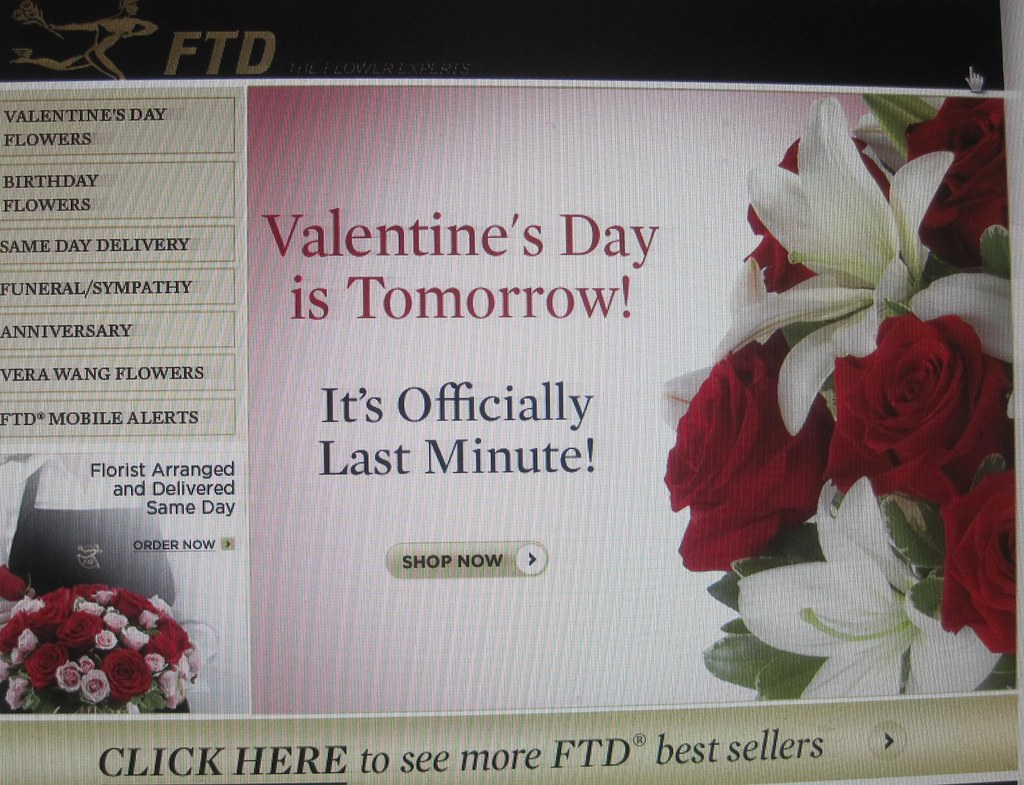 Valentine's Day is Tomorrow!  It's Officially Last Minute!