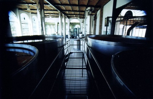 Tequila Distilling Tanks