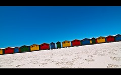 Muizenberg... (ryklin) Tags: ocean sea color beach colors southafrica nikon colorful tokina muizenberg d90 nikond90 tokina1116mmf28