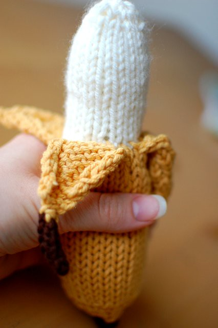 knitted banana
