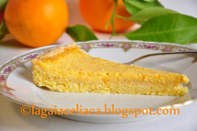 tarte all'arancio senza glutine