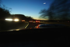 Driving Home (It's my whole damn raison d'etre) Tags: car night arlington virginia driving va shelby mustang gt lpmovement