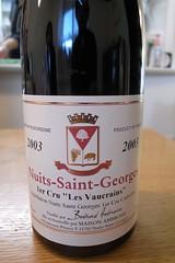 2003 Bertrand Ambroise, Nuits-Saint-Georges 1er Cru, Les Vaucrains