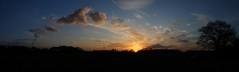 sunset pano (wacek) Tags: sunset autostitch panorama sonnenuntergang pano gladbeck