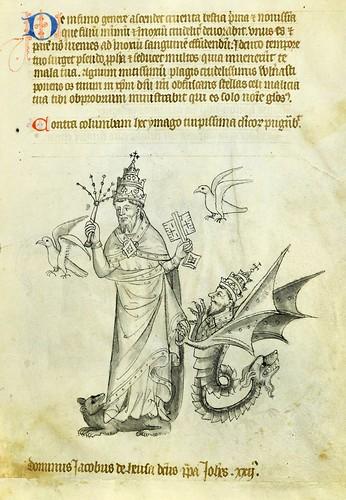 023-VadSlg Ms. 342-© St. Gallen Kantonsbibliothek Vadianische Sammlung-Vaticinia de pontificibus-f 9