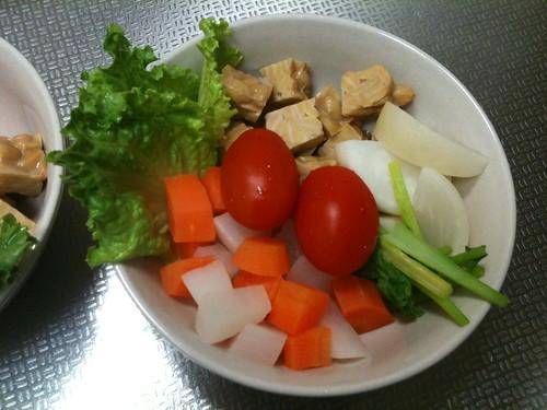 朝食サラダ(2011/2/19)
