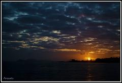 Solpor sobre a Ra de Vigo (amaurea2310) Tags: galicia galiza morrazo
