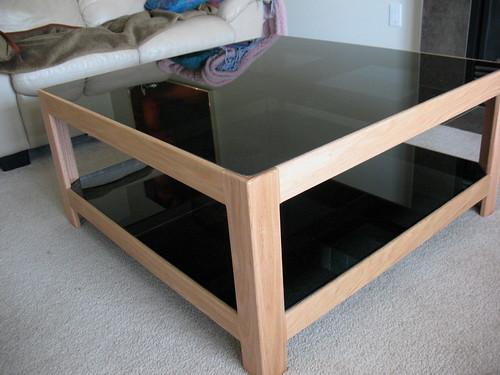 Our New Oak Coffee Table