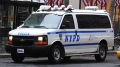 NYPD (zamboni-man) Tags: new york city winter light snow building church ed nbc la metro bronx small north nypd mta plow ge fdny strom con undercover 2010 whelen inglesia 2011