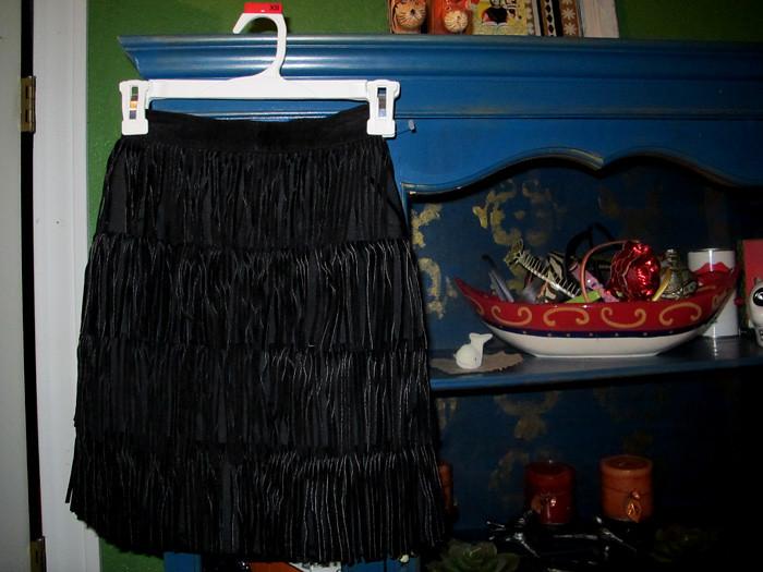 leatherfringeskirt