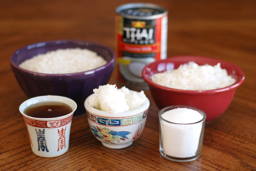 美味厨房博客泰国椰子饭