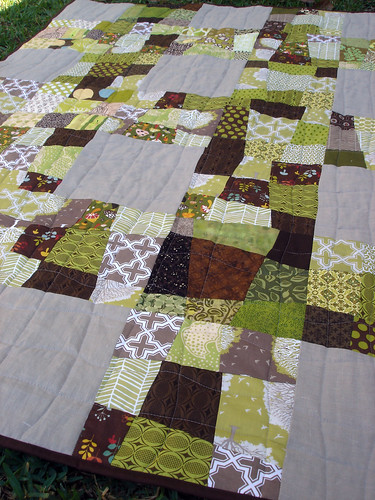January Do.Good Stitches quilt, 2