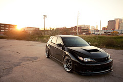 glilly's STi (Danh Phan) Tags: sunset black houston subaru sti greglilly maydaygarage glilly