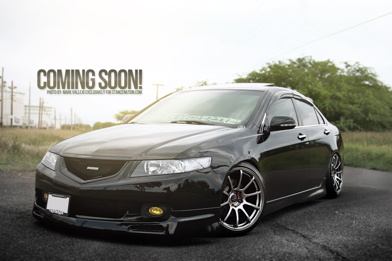 Coming Soon Acura Tsx Stancenation Form Function