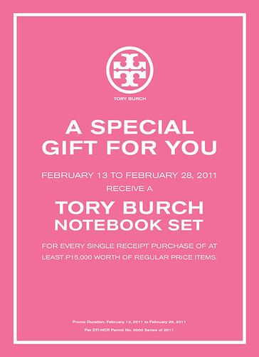 Tory Burch Notebook Poster