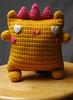 Spiky Callie (callie callie jump jump) Tags: smile kids burlington toy stuffed vermont crochet humor craft plush yarn fantasy kawaii etsy amigurumi creatures hamdmade urbanfarmgirl erinnsimon