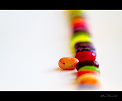 Dare to be different...stand out from the crowd. (RiaPereira - here but mostly there) Tags: color macro dof diversity 100mm theme concept monday jellybeans jellybelly interpretation oneinamillion standoutfromthecrowd takearisk macromonday riapereira wearealldifferentandunique dontblendin okwithbeingdifferent