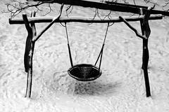 sugar powder (marfis75) Tags: schnee winter snow playing field playground kids court children kid wiesbaden child play creative commons kinder swing kind cc creativecommons swinging rund baum tool spielplatz spielen schaukel schaukeln puderzucker kinderspielplatz marfis75 weihnachten2010 marfis75onflickr