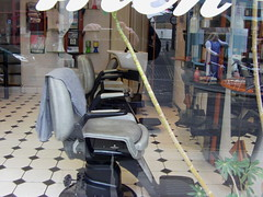 Empty Chair (58smooth) Tags: chair barber barbers