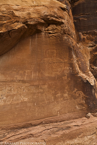 Vandalized Pictograph