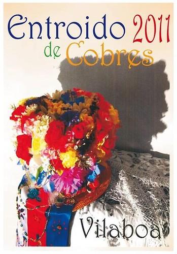 Vilaboa 2011 - Entroido de Cobres - cartel pequeno