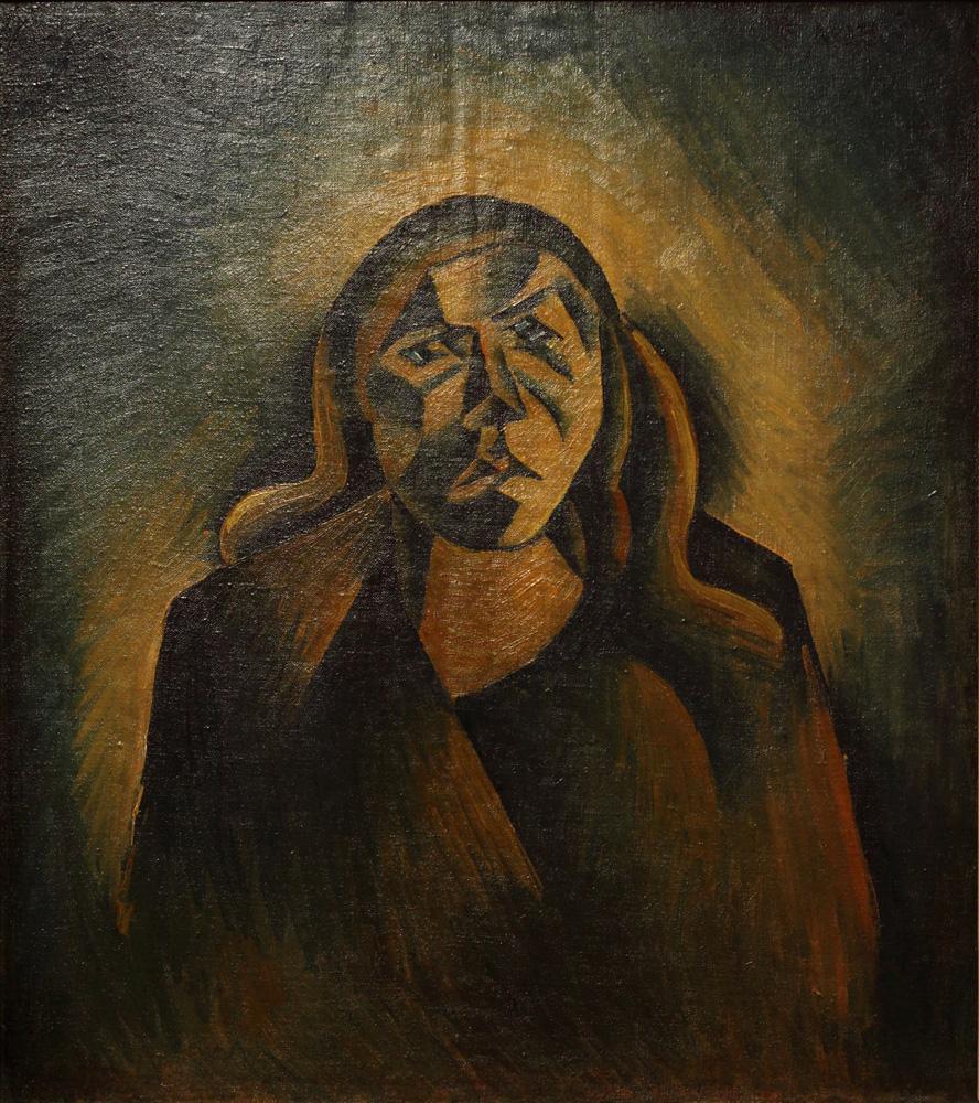 Bohumil Kubišta, Epileptická žena [Epileptic woman], 1911