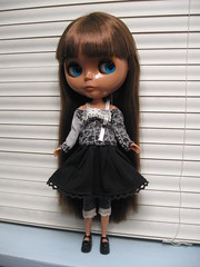 Marciela in the Puzzle Top & Loli Skirt